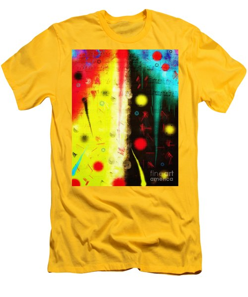 Men's T-Shirt (Athletic Fit) featuring the digital art Carnival by Silvia Ganora