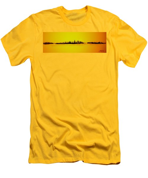 City Of Gold Men's T-Shirt (Slim Fit)