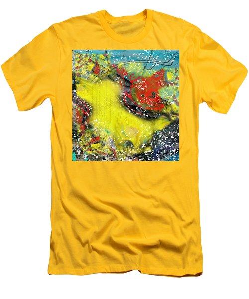 Let's Celebrate Men's T-Shirt (Slim Fit) by Yul Olaivar