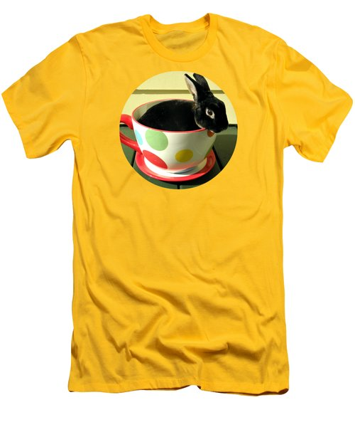 Cup O Bun T Shirt Men's T-Shirt (Slim Fit) by Valerie Reeves