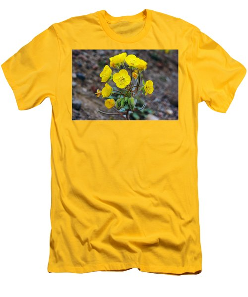 Death Valley Superbloom 306 Men's T-Shirt (Slim Fit) by Daniel Woodrum