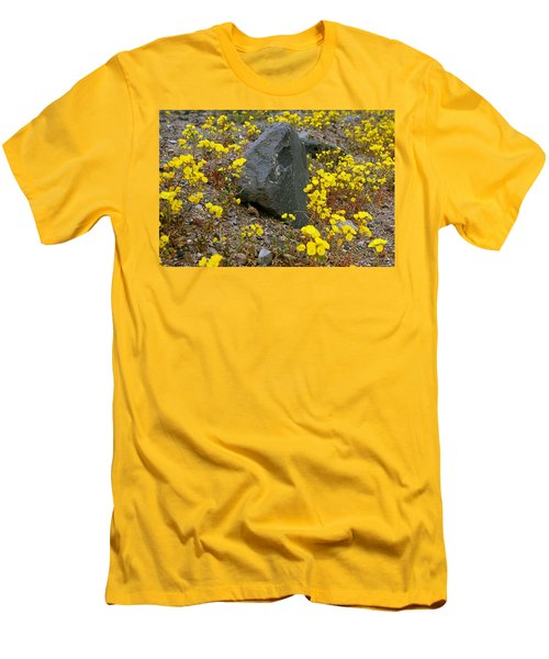Death Valley Superbloom 406 Men's T-Shirt (Slim Fit) by Daniel Woodrum