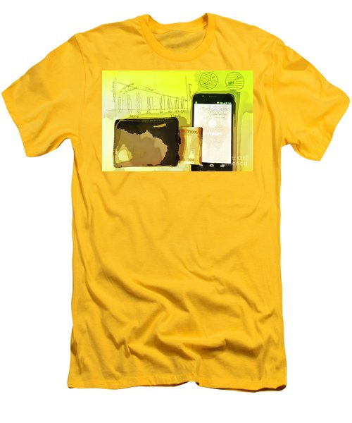 Digitalization Men's T-Shirt (Slim Fit) by Kiran Joshi