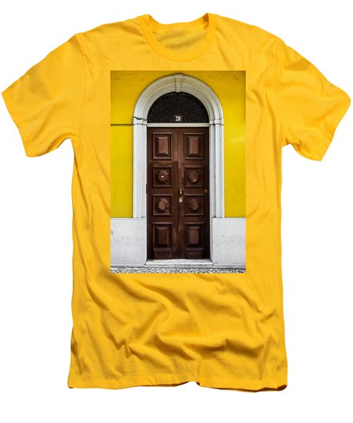 Door No 20 Men's T-Shirt (Athletic Fit)
