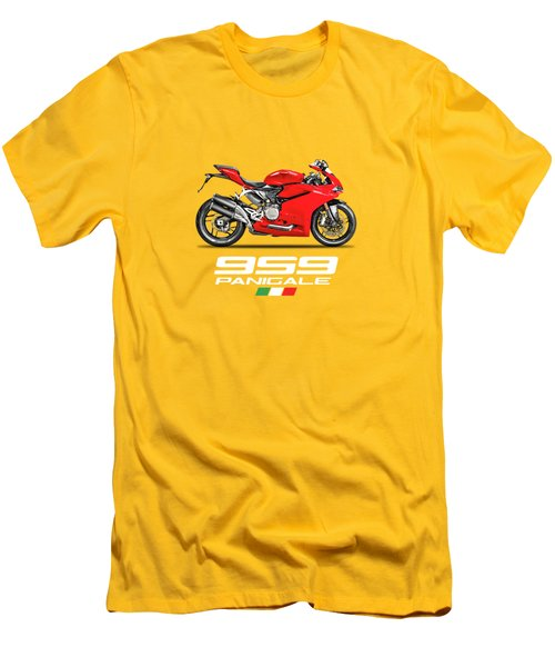 Ducati Panigale 959 Men's T-Shirt (Athletic Fit)
