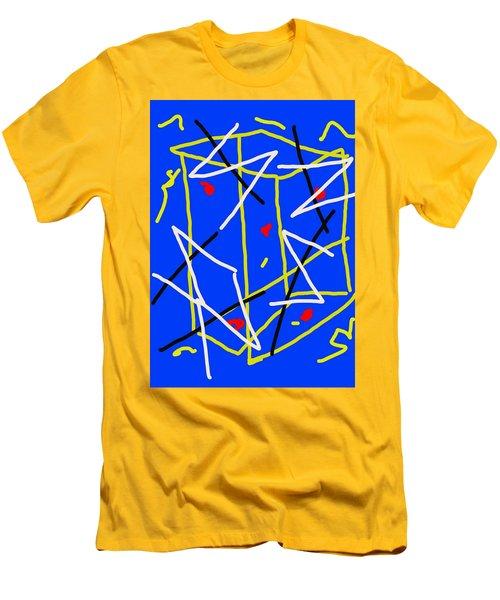 Electric Midnight Men's T-Shirt (Slim Fit) by Paulo Guimaraes