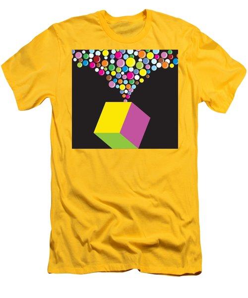 Eruption Men's T-Shirt (Slim Fit) by Now
