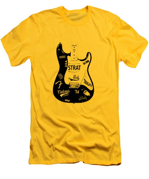 Fender Stratocaster 54 Men's T-Shirt (Athletic Fit)
