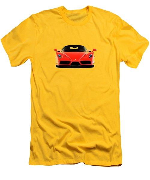 Ferrari Enzo Ferrari Men's T-Shirt (Slim Fit) by Mark Rogan
