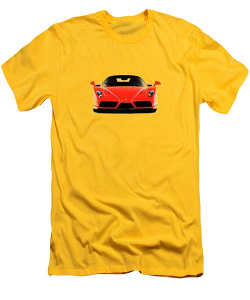 Ferrari Enzo Ferrari Men's T-Shirt (Slim Fit)