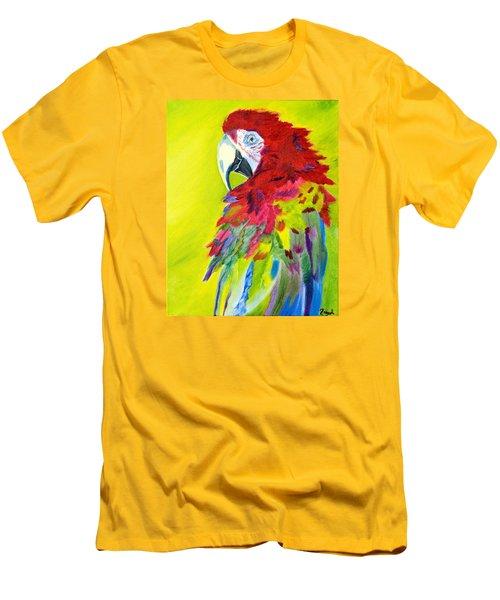 Fiery Feathers Men's T-Shirt (Slim Fit) by Meryl Goudey