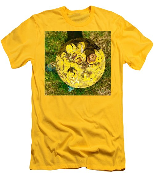 Fire Hydrant #1 Men's T-Shirt (Slim Fit) by Suzanne Lorenz