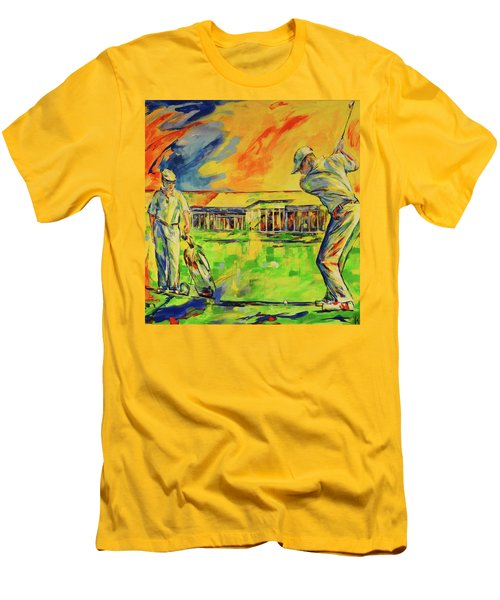 Fruehen Morgen Spiel   Early Morming Game Men's T-Shirt (Athletic Fit)