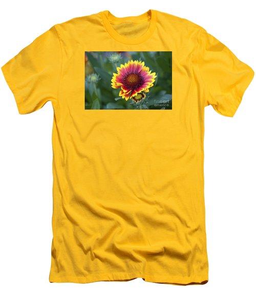 Gallardia 20120615_183b Men's T-Shirt (Slim Fit) by Tina Hopkins