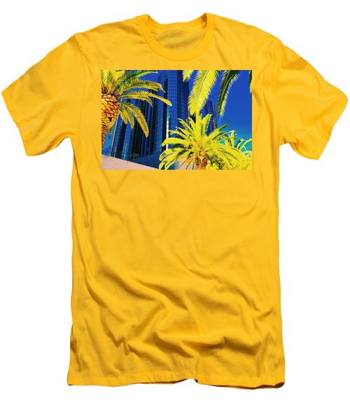 Glass And Palms Men's T-Shirt (Slim Fit) by Joe Burns