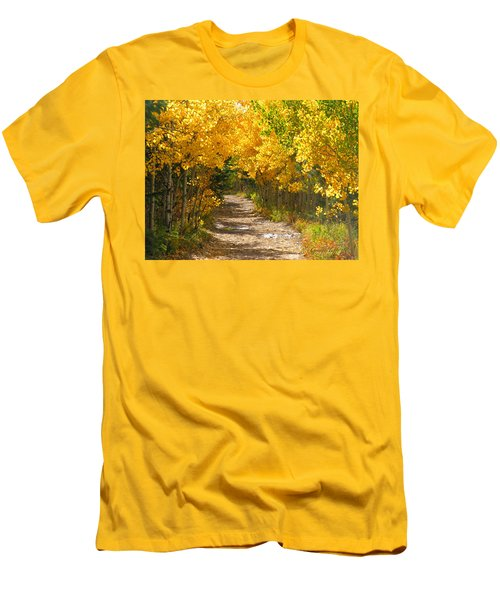 Golden Tunnel Men's T-Shirt (Athletic Fit)