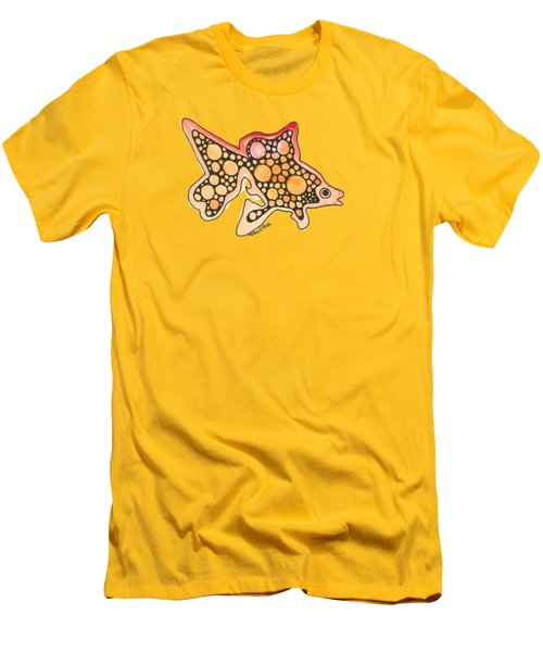 Goldfish Men's T-Shirt (Athletic Fit)