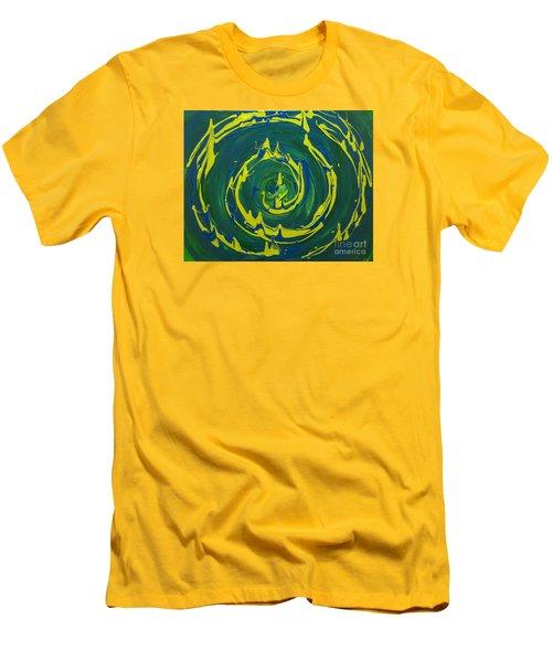Guacamole Swirl Men's T-Shirt (Athletic Fit)
