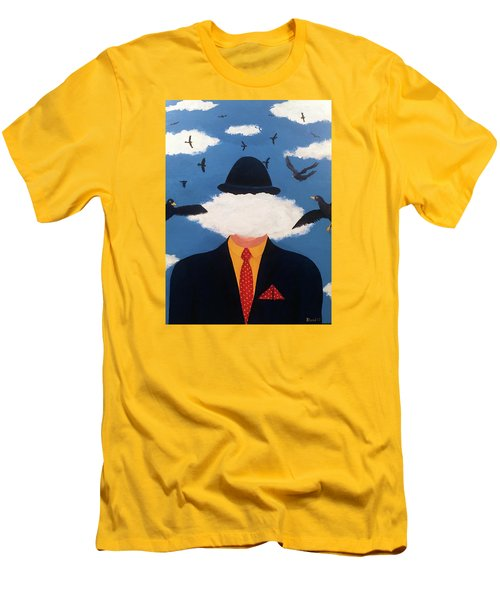 Head In The Cloud Men's T-Shirt (Slim Fit) by Thomas Blood
