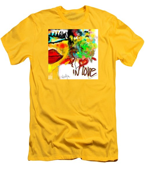 In Love  Men's T-Shirt (Athletic Fit)