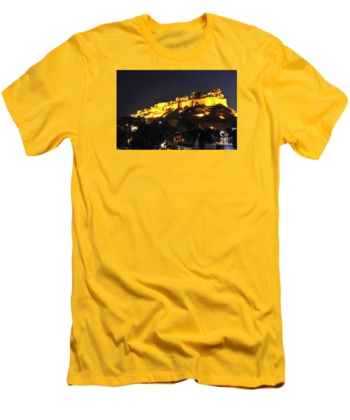 Jaisalmer Desert Festival-3 Men's T-Shirt (Athletic Fit)
