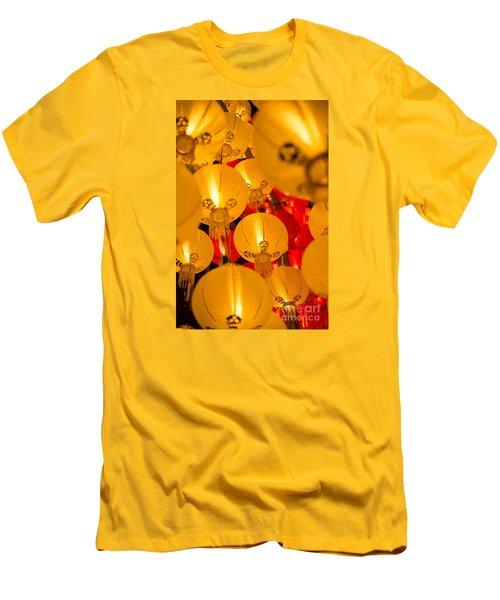 Japanese Lantern 3 Men's T-Shirt (Athletic Fit)