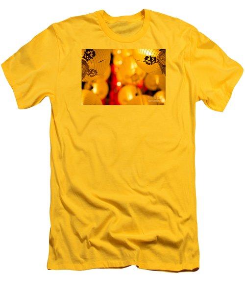Japanese Lanterns 8 Men's T-Shirt (Athletic Fit)