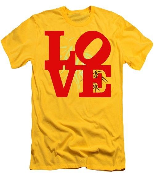 Jungle Love Tee Men's T-Shirt (Slim Fit) by Paulette B Wright