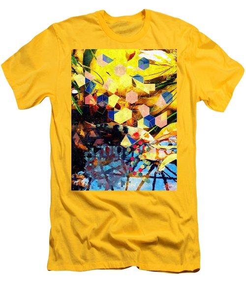 Koi  Men's T-Shirt (Slim Fit) by Karl Reid