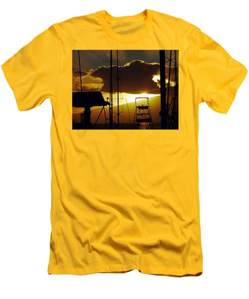 Lahaina Sunsets 5 Men's T-Shirt (Athletic Fit)