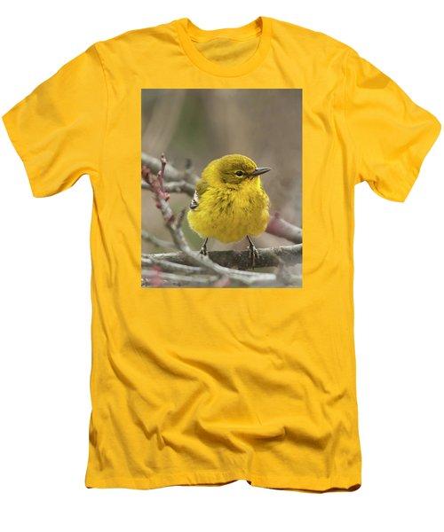 Little Yellow Men's T-Shirt (Slim Fit) by Lara Ellis