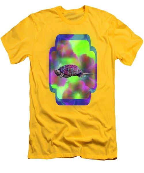 Ms Curlie Men's T-Shirt (Slim Fit) by Linda Troski