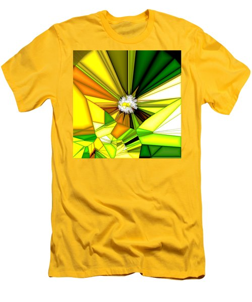 My Little Digital Daisy Men's T-Shirt (Athletic Fit)
