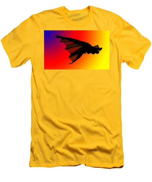 Mystery In Flight Men's T-Shirt (Athletic Fit)