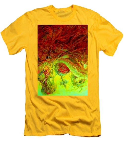 Oniristic Space Men's T-Shirt (Slim Fit) by Henryk Gorecki