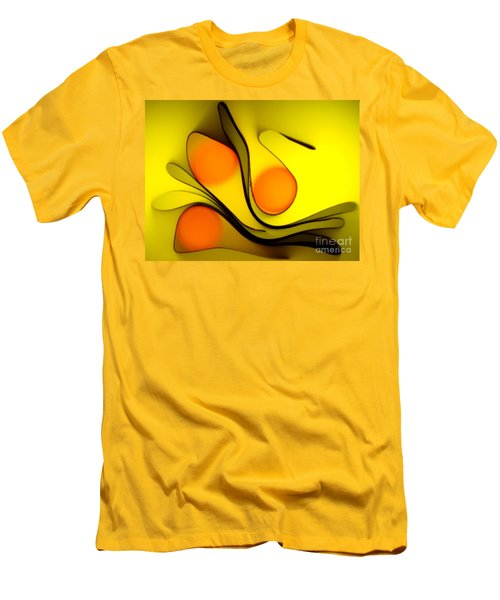 Men's T-Shirt (Slim Fit) featuring the photograph Oranges by Trena Mara