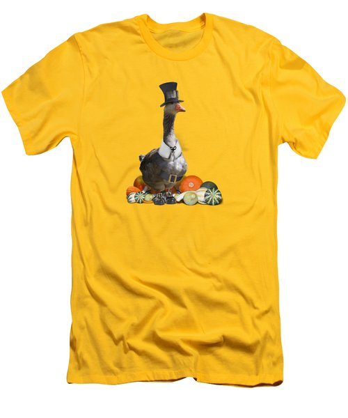 Pilgrim Goose Men's T-Shirt (Athletic Fit)