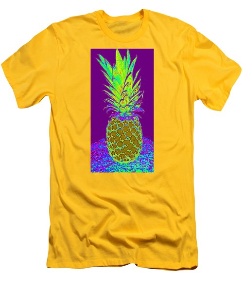 Purple Pineapple Men's T-Shirt (Athletic Fit)