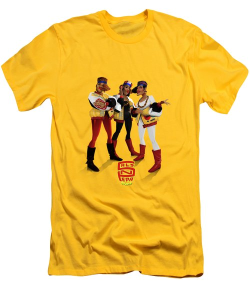 Push It Men's T-Shirt (Athletic Fit)
