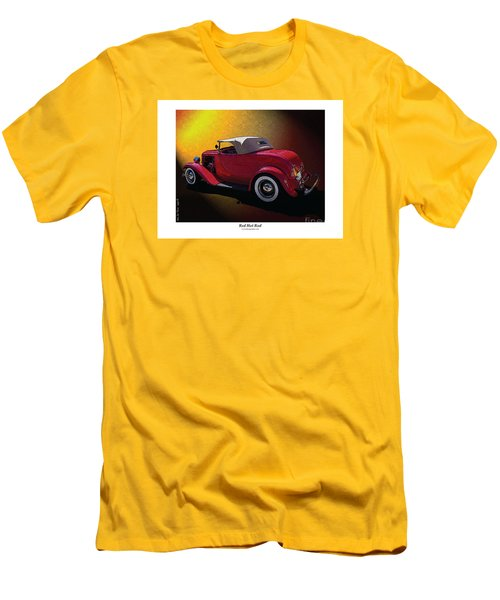 Red Hot Rod Men's T-Shirt (Athletic Fit)