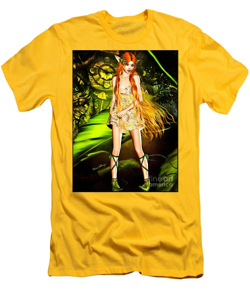 Redhead Forest Pixie Men's T-Shirt (Athletic Fit)