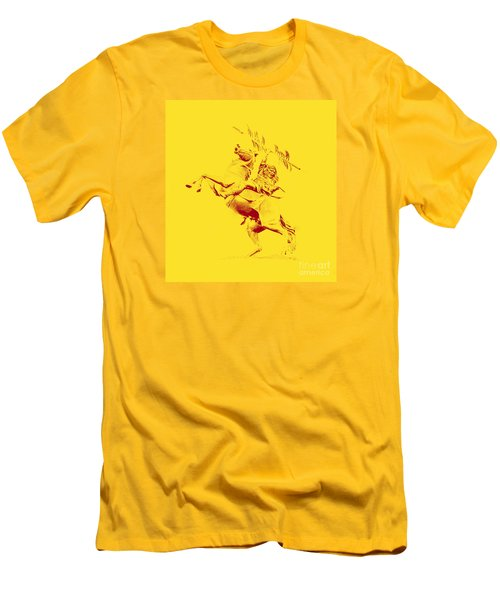 Renegade And Chief Osceola Men's T-Shirt (Slim Fit) by Paul  Wilford