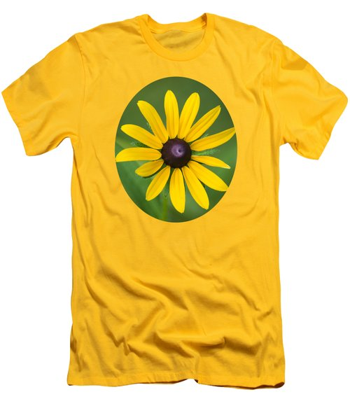 Rudbeckia Flower Men's T-Shirt (Slim Fit) by Christina Rollo