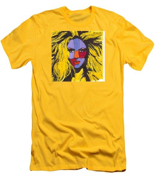 Shakira Men's T-Shirt (Slim Fit) by Zheni Mavromati