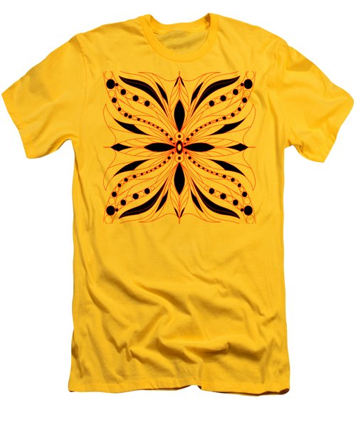 Shapes Of Symmetry Men's T-Shirt (Athletic Fit)