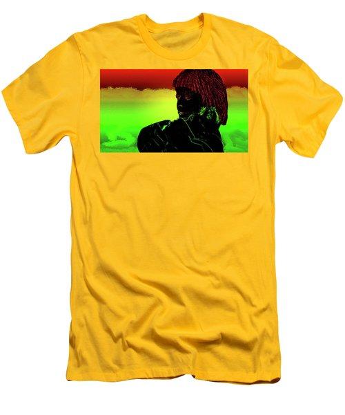 Soul Mates Men's T-Shirt (Slim Fit) by Mike Breau