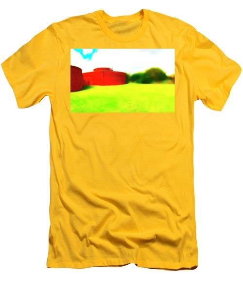 South Walls Men's T-Shirt (Slim Fit) by Jan W Faul