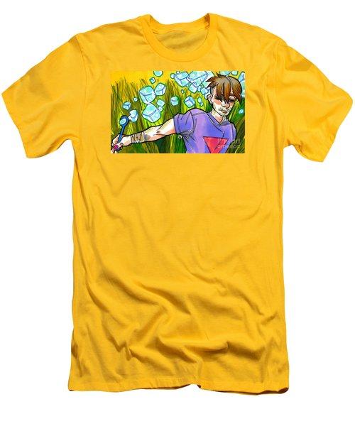 Square Peg Men's T-Shirt (Athletic Fit)