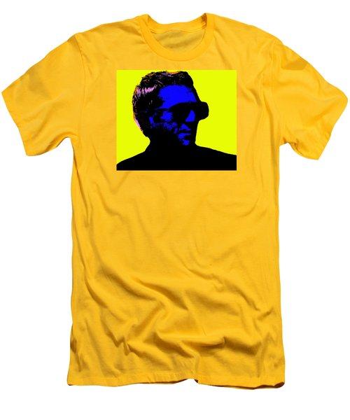 Steve Mcqueen Men's T-Shirt (Slim Fit) by Emme Pons