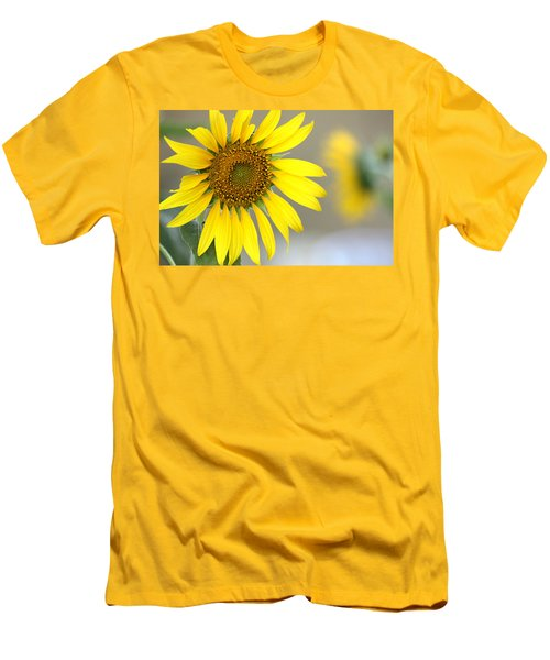 Men's T-Shirt (Slim Fit) featuring the photograph Sunflower by Sheila Brown